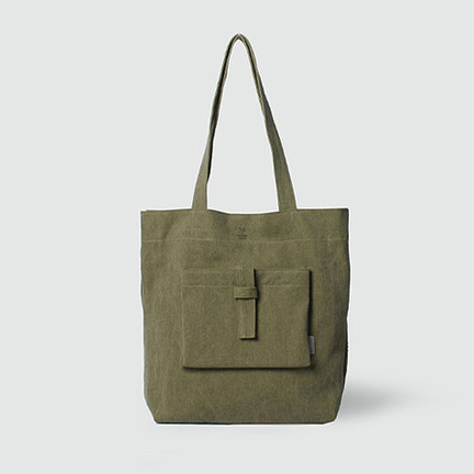 [The zero] P.1 ecobag forestkhaki