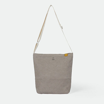[The zero] Half Moon mini ecobag sandbrown