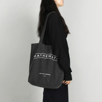 Mill C4 shoulder Bag_washed Black