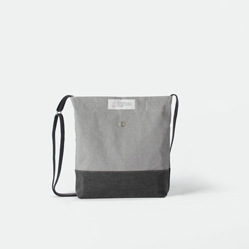 [The zero] Z 301 mini crossbag light & dark gray